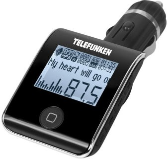 Автомобильный FM-модулятор Telefunken TF-FMT19BT black